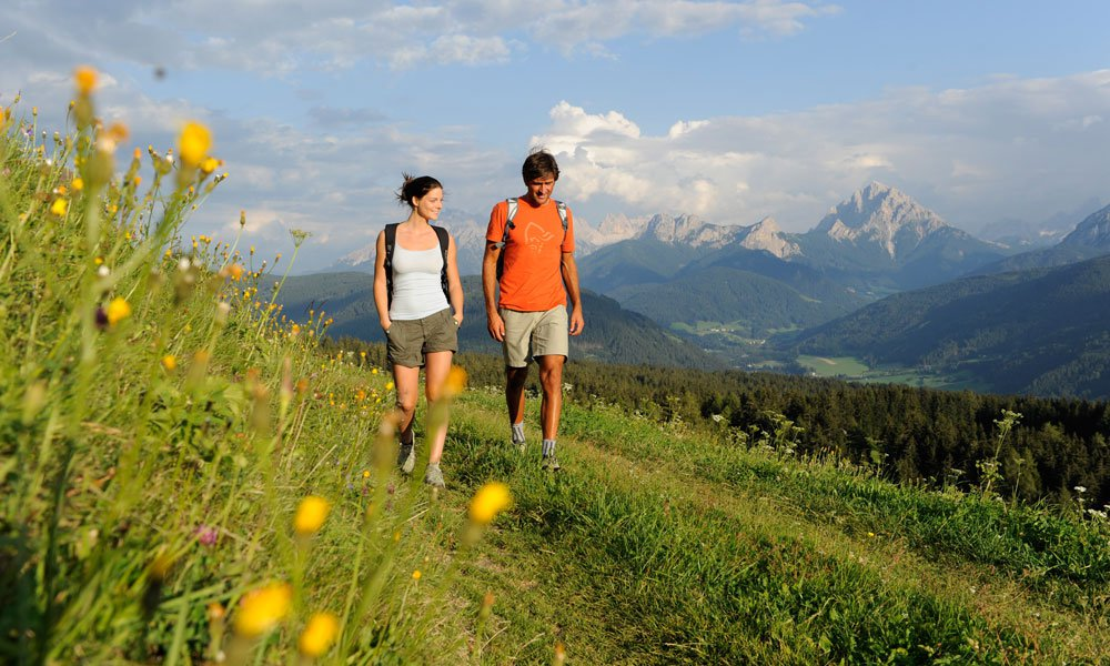 Holidays in the Pusteria Valley – the right choice for nature lovers