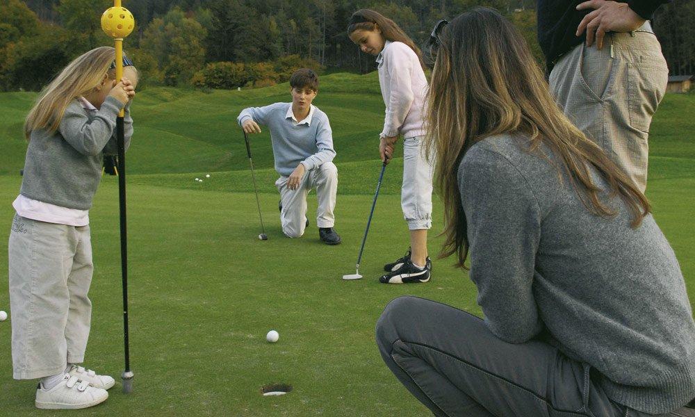 Vacanze all'insegna del golf in Alto Adige