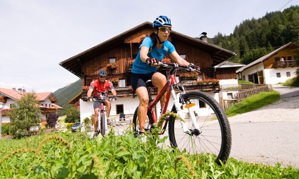 Bicycle tours in the Pusteria Valley - On the road by bicycle