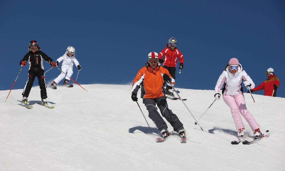 Der Skiberg Kronplatz, Mitglied von Dolomiti Super Ski