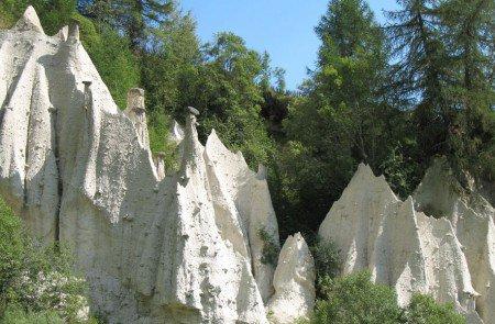 Erdpyramiden-Mühlen-Gols-Astnerbergalm-Terenten