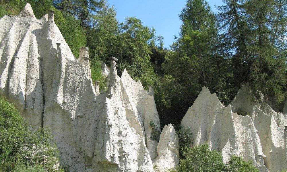 Piramidi di terra – mulini – Gols – Malga Astnerberg - Terento