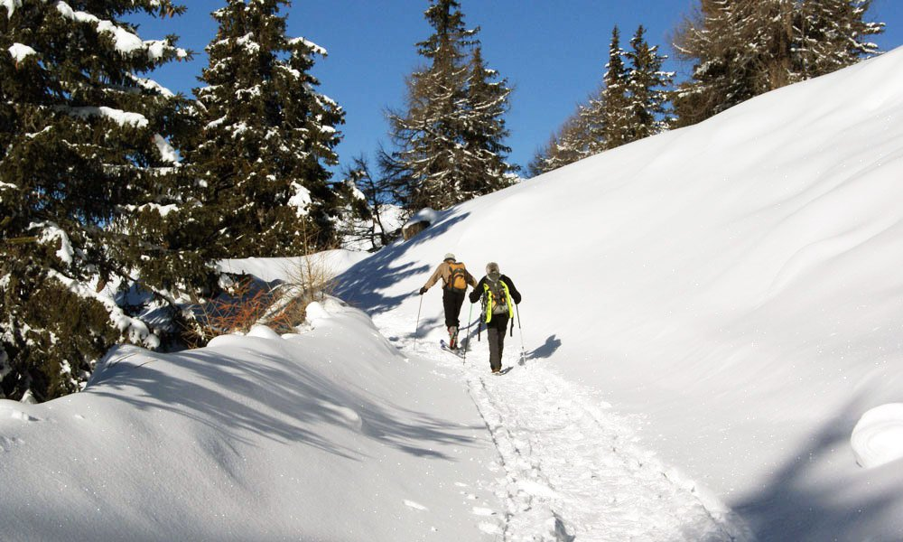 Spend your winter vacation hiking at Plan de Corones